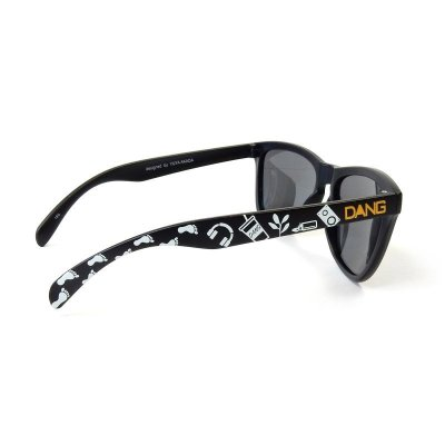 画像4: Black Matte x Black Smoke Polarized Lens YUYA AKADA designed model【偏光レンズ】