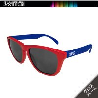 SWITCHシリーズ Gloss Red/Blue x Black